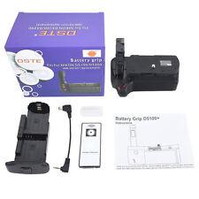 DSTE Remote Vertical Pro Battery grip for Nikon D5300 D5100 D5200 Camera