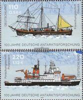 BRD (BR.Deutschland) 2229-2230 (kompl.Ausg.) gestempelt 2001 Antarktisforschung