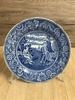 Spode - The Spode Blue Room Collection Blue and White Plate 'Woodman