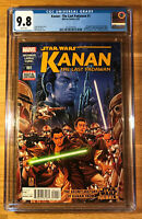 Star Wars: Kanan The Last Padawan #1, CGC 9.8, graded NM/MT, 1st Sabine Wren