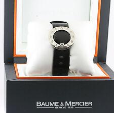 Ladies Baume & Mercier Vice Versa Diamond Bracelet In Box Watch Leather Strap