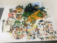 Playmobil - Huge Bundle - Vintage Modern - Figures Horses Furniture Accessories