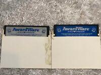 AwardWare Hi Tech Expressions For Atari and Commodore - 5.25 Media