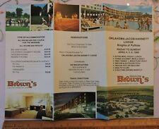 1986 Brown's Hotel Catskills Sheldrake New York NY Knights of Pythias Brochure