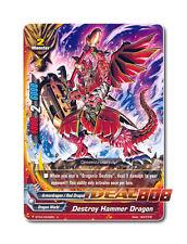 Buddyfight x 4 Destroy Hammer Dragon - BT04/0045EN (U) Uncommon Mint Future Card