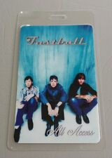 Fastball Laminated Backstage Pass Aa