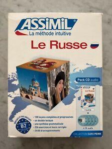 Assimil Pack CD Audio pour le russe