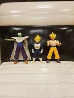 Dragon Ball Z Figures X3 Goku, Piccolo, Vegeta
