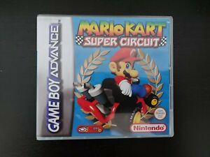 Nintendo Gameboy Advance GBA Mario Kart Genuine Cart