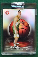 Nick Collison rookie card refractor #d - 2003-04 Pristine sealed OKC Thunder RC