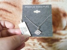 CLOSEOUT SALE! Imported From USA! $29.99 Premium Silver Plate Necklace A