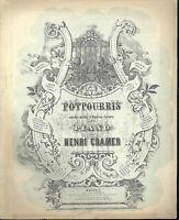 """Potpourri aus """" Die Walküre """" von Henri Cramer, alte, übergroße Noten"""