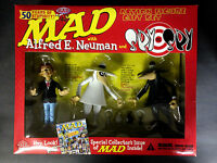 2002 DC DIRECT MAD ALFRED E. NEUMAN AND SPY VS SPY ACTION FIGURE GIFT SET D49