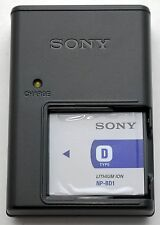 NEW GENUINE Sony BC-CSD/NP-BD1 Rechargeable Camera BATTERY Pack + CHARGER dsc-t2