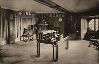 Kassel Hessen AK ~1910 Wilhelmshöhe Löwenburg Arbeitszimmer Adjutant Kurfürst