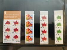 Canada Stamps Coil Reprints Strips Leaf 2053-55 Booklets 280-83 (strbx3)