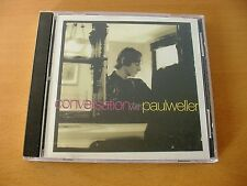 """PAUL WELLER """"Conversation With Paul Weller"""" rare PROMO CD from 1995 (The Jam)"""