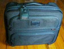 TUMI Alpha Rolling EXpandable Briefcase - Black Ballistic - 26124DH