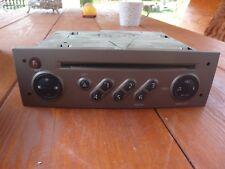 CD RADIO RENAULT CLIO II autorradio + code PLATA COLOR