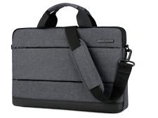 BRINCH 15.6 Inch Laptop Shoulder Bag for Work/Travel - Black