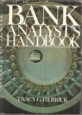 Bank Analyst's Handbook by Tracy G. Herrick (1978, Hardcover)