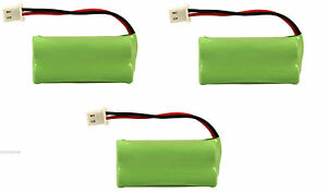 3 Vtech At&t Home Phone Battery 700mAh NiMH for DS6511 DS6521 DS6521-2 DS65212