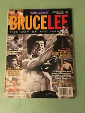 BRUCE LEE THE WAY OF THE DRAGON MAGAZINE, December 1995, #8, RARE
