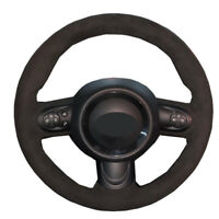 DIY Car Steering Wheel Cover For Mini Cooper (Hatchback/Mini R56/R57) Clubman