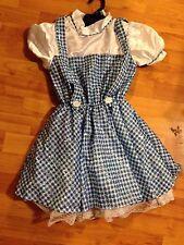 Dorothy Costume Sequin Wizard of Oz Girls Deluxe Halloween Child S 886493