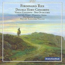 Ferdinand Ries: Double Horn Concerto; Violin Concerto; Overtures, New Music