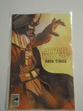 SDCC 2013 EXCLUSIVE cover STAR WARS: DARK TIMES - A Spark Remains #1 comic