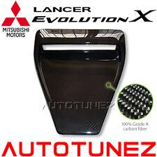 Mitsubishi Carbon Fiber Bonnet Front Hood Air Scoop Vent Lancer EVO X 10 CZ4A