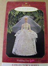 HALLMARK KEEPSAKE ORNAMENT WEDDING DAY BARBIE 1997