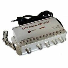 ds Amplificatore Segnale Tv Sdoppiatore Antenna 4 Uscite Digitale Terrestre hsb