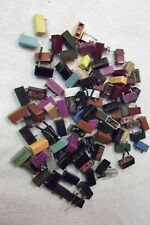 Vtg. color plastic Amp Fuses 93 count lot # 1