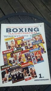 Boxing Illustrated + Wrestling News Magazine: Jan. 1960. 1st Anniversary.