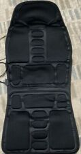 Car Seat Full Body Massager w/Heat Plugs into the Cigarette Lighter Barely Used