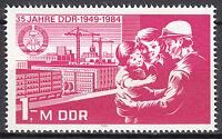 DDR 1984 Mi. Nr. 2896 aus Block 78 Postfrisch ** MNH