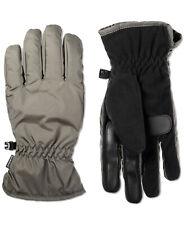 Isotoner Signature men's Isotoner  Touchscreen Gloves Gray Medium