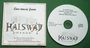 The Halsway Millennium Players Live Music From Halsway Manor Somerset CD