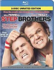 Step Brothers Blu-ray 2 Disc Unrated Edition Theatrical Version