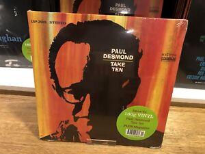 "PAUL DESMOND - "" TAKE TEN "" - JAZZ AT 33 1/3 - VINYL DISC - DeAGOSTINI"