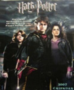 Harry Potter Wall Calendar - collectible past-year; new & factory sealed