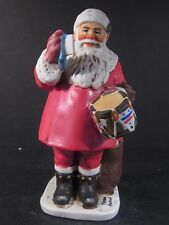 "Norman Rockwell Dave Grossman NRC-24 A DRUM FOR TOMMY Santa 6 1/2"" Porcelain"