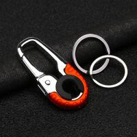 Smart Key Ring Alloy Metal Car Keyring Holder Organizer Chain Heavy Duty