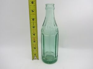 VTG GLASS EMBOSSED CHEERWINE SODA POP DRINK BOTTLE 6 OZ LGW LEAKSVILLE NC