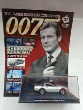 JAMES BOND 007 CAR COLLECTION - CHEVROLET CORVETTE - VIEW TO A KILL ISSUE #37