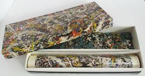 "1964 Springbok Jackson Pollock Jigsaw Puzzle with Poster, ""Convergence"""