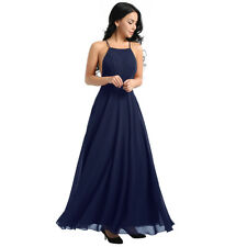 Women Elegant Formal Long Evening Party Dress Prom Ball Gown Bridesmaids Dresses