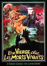 Virgin Among Living Dead Poster 01 Metal Sign A4 12x8 Aluminium